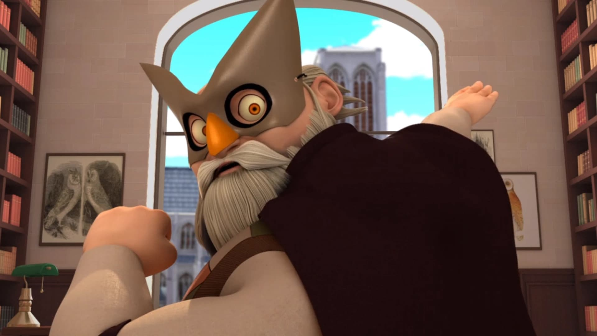 Miraculous: Tales of Ladybug & Cat Noir Season 2 :Episode 8  The Dark Owl