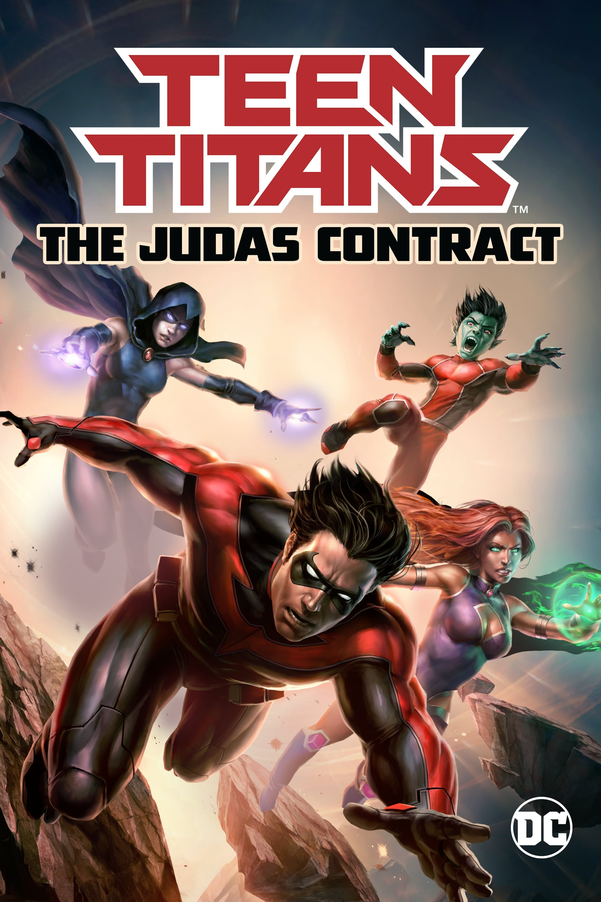 Jaunieji Titanai / Teen Titans: The Judas Contract (2017)