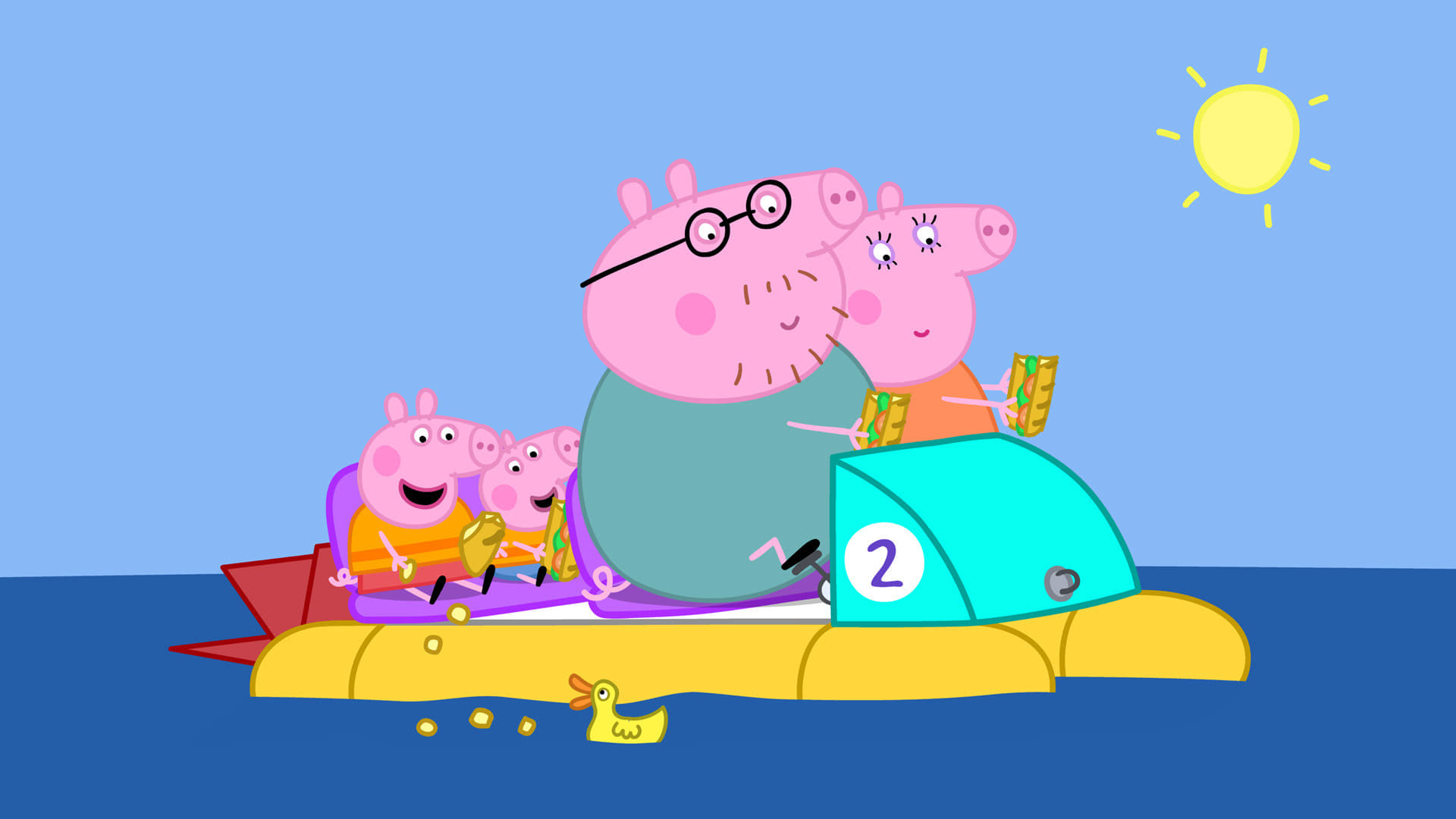 Peppa Pig Season 4 :Episode 43  Going Boating