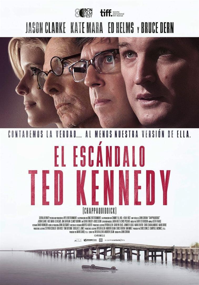 Póster El escándalo Ted Kennedy