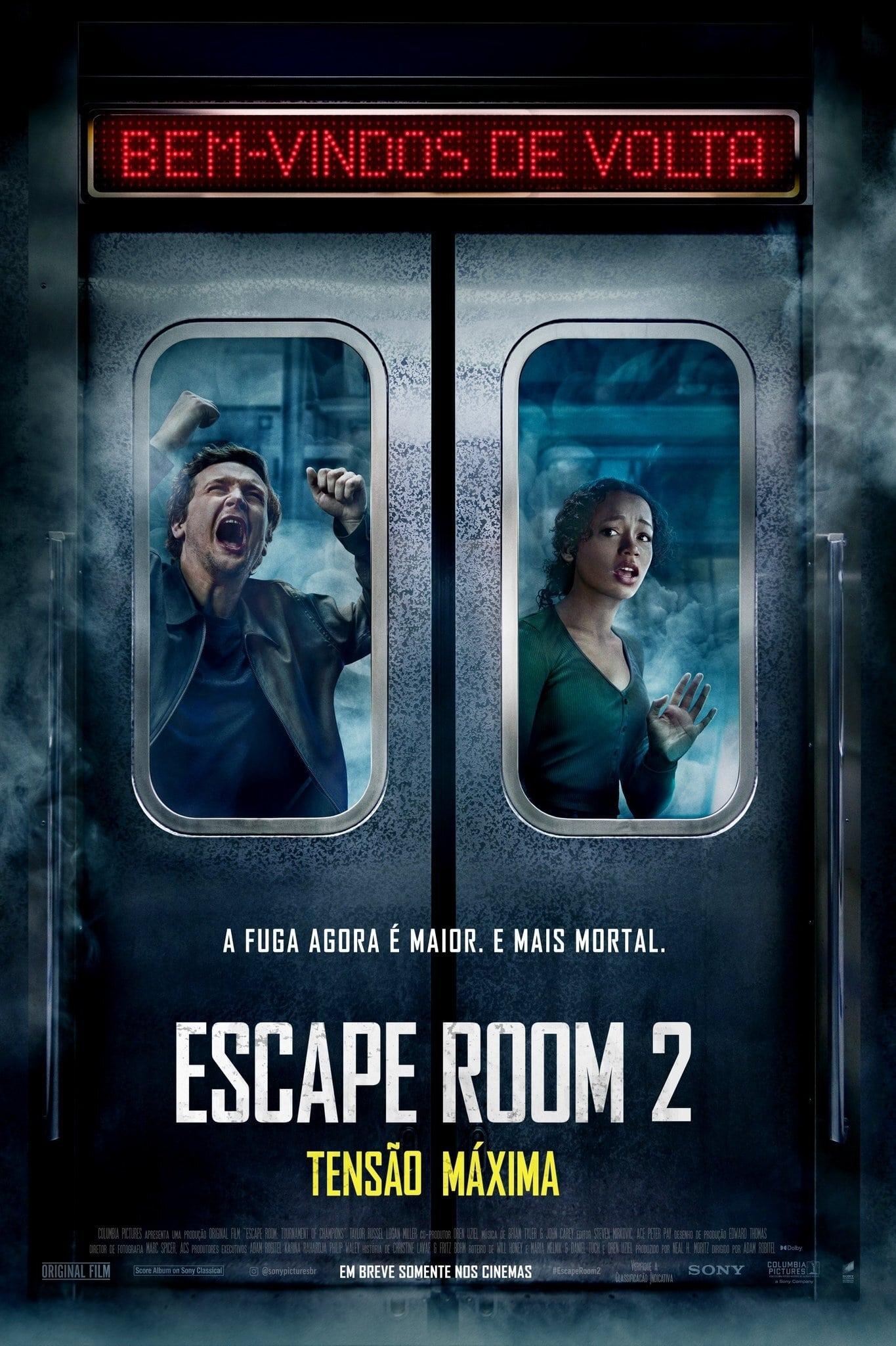 Escape Room 2: Tensão Máxima Dublado Online