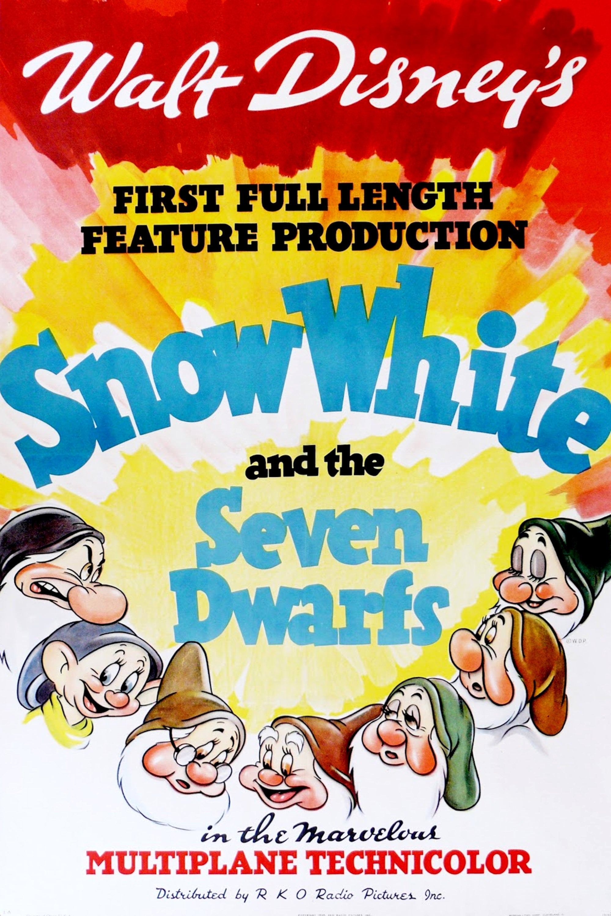 snow white and the seven dwarfs 1937 posters � the