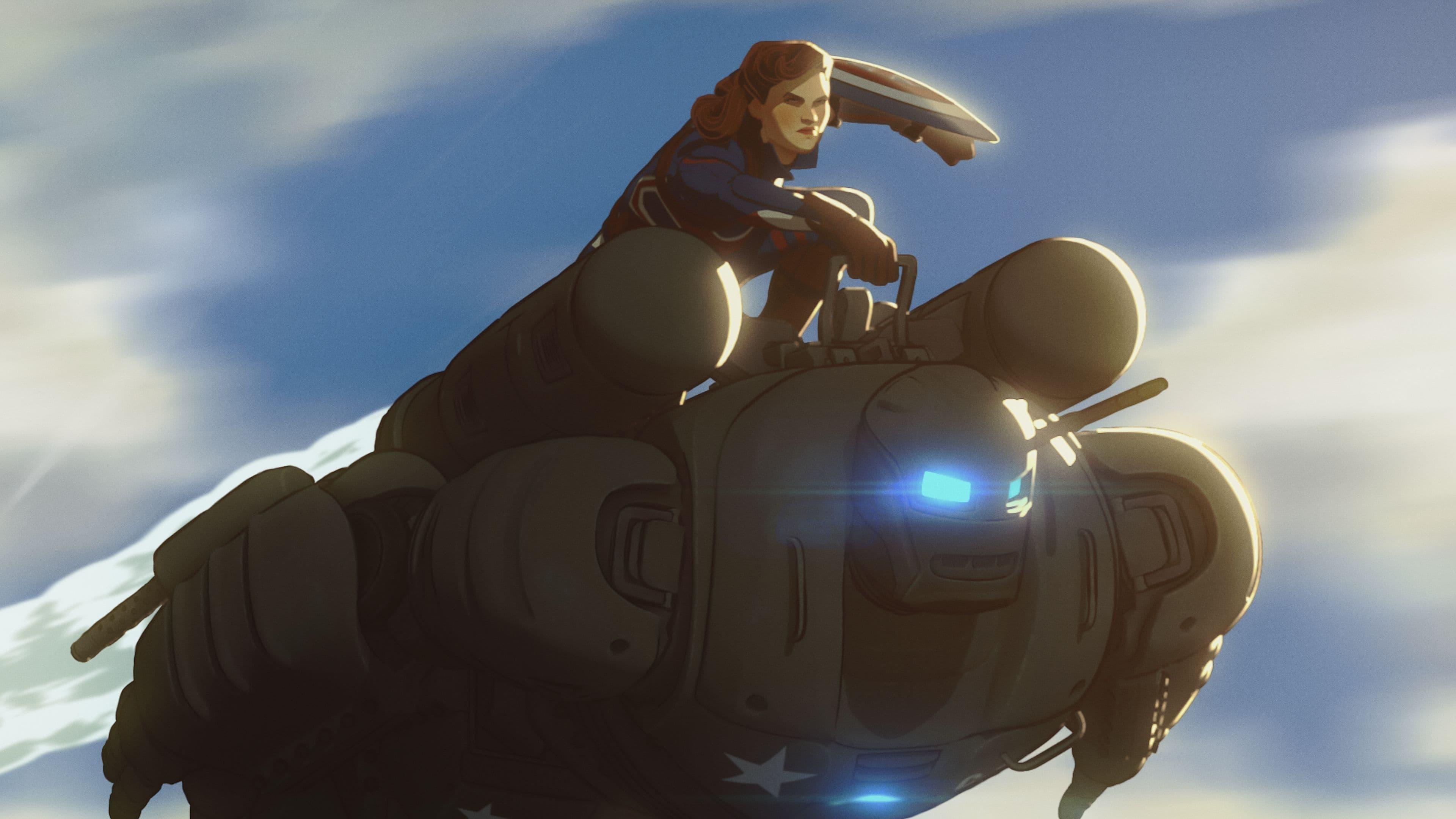 What If...? Season 1 :Episode 1  Was wäre, wenn... Captain Carter die erste der Avengers geworden wäre?
