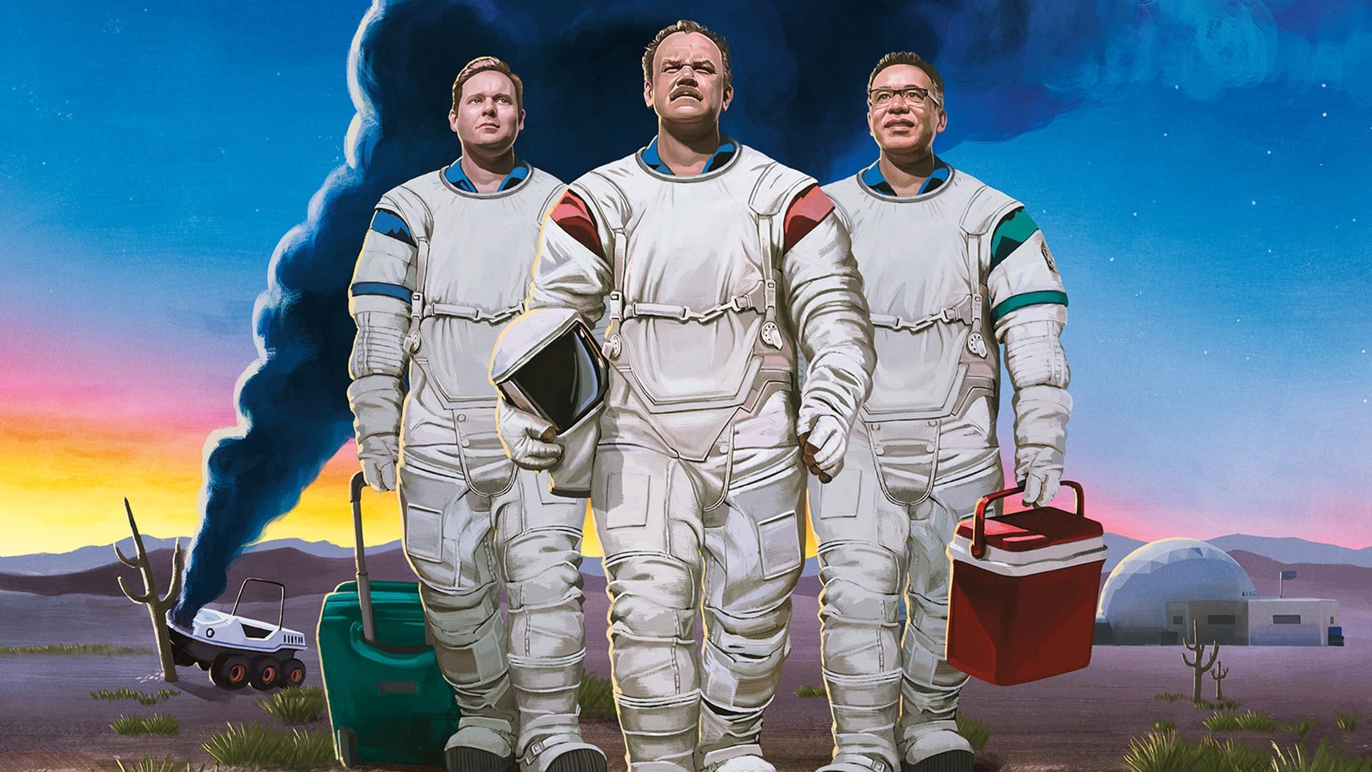 Moonbase 8 begin november in première bij Showtime