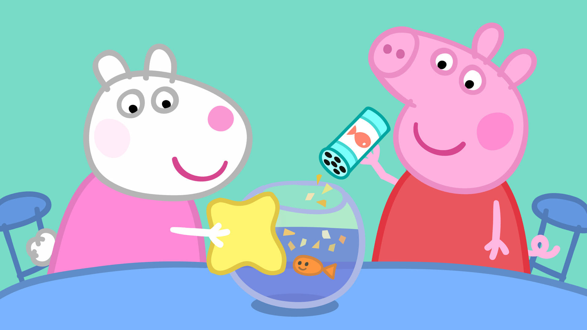 Peppa Pig Season 4 :Episode 21  The Pet Competition