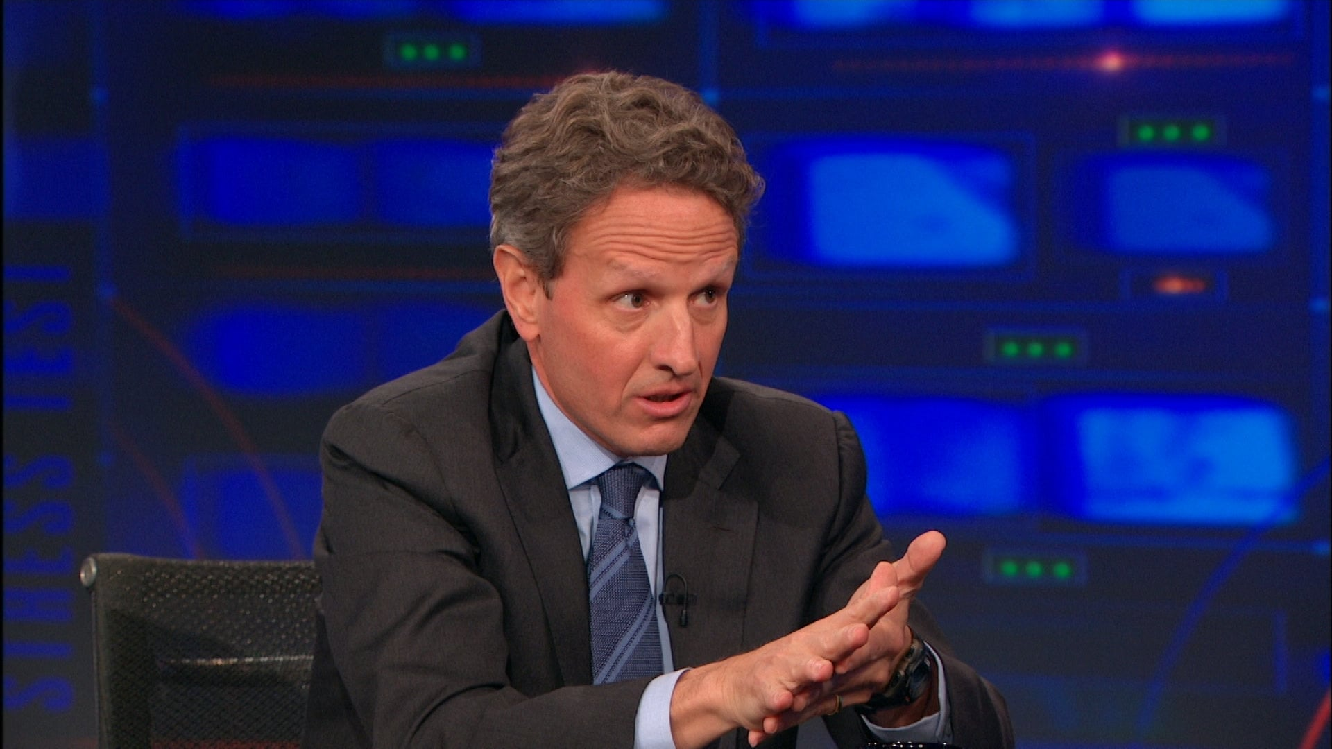 The Daily Show with Trevor Noah Season 19 :Episode 109  Timothy Geithner