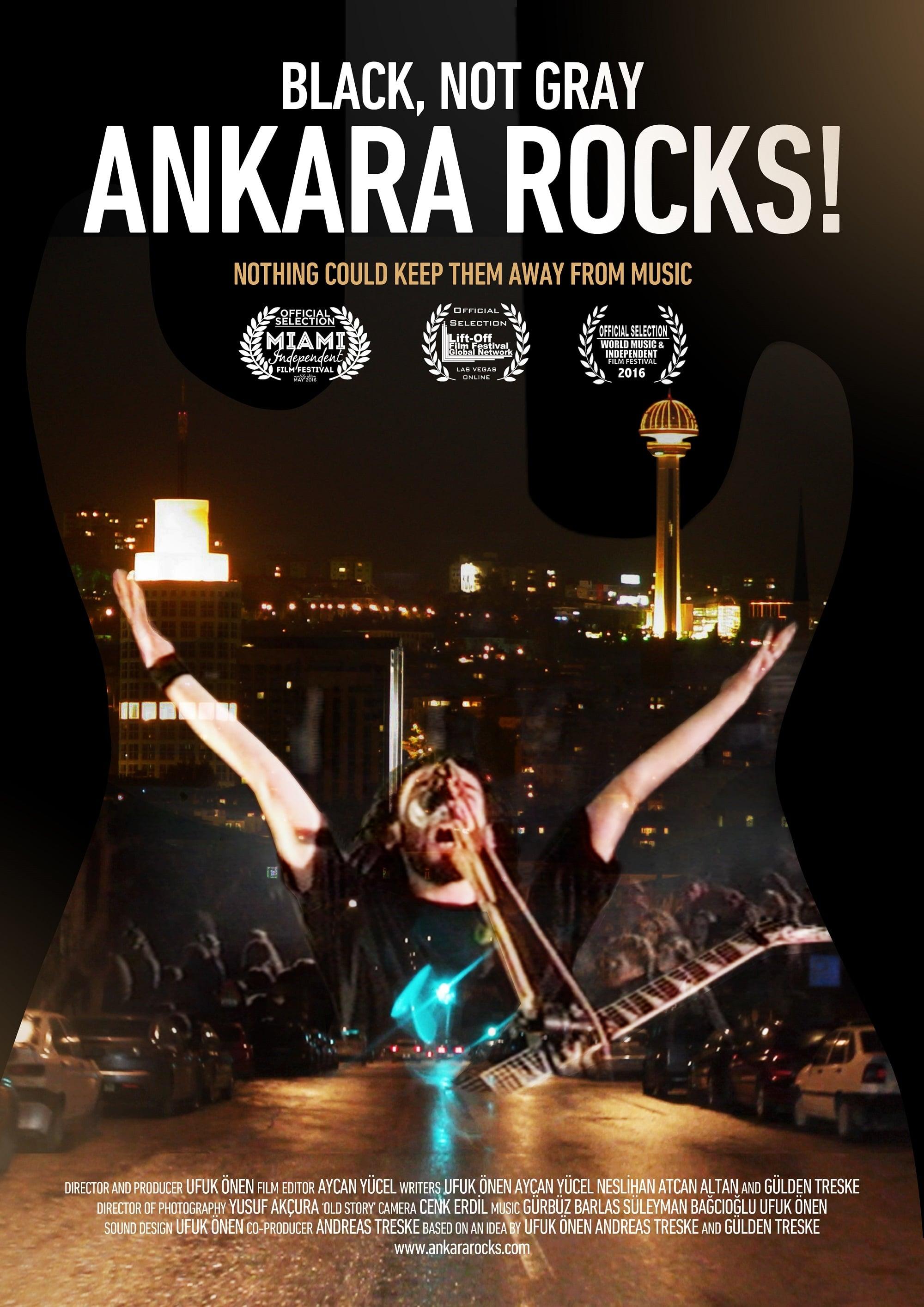 Ver Gri De?il, Siyah: Ankara Rocks! Online HD Español (2015)