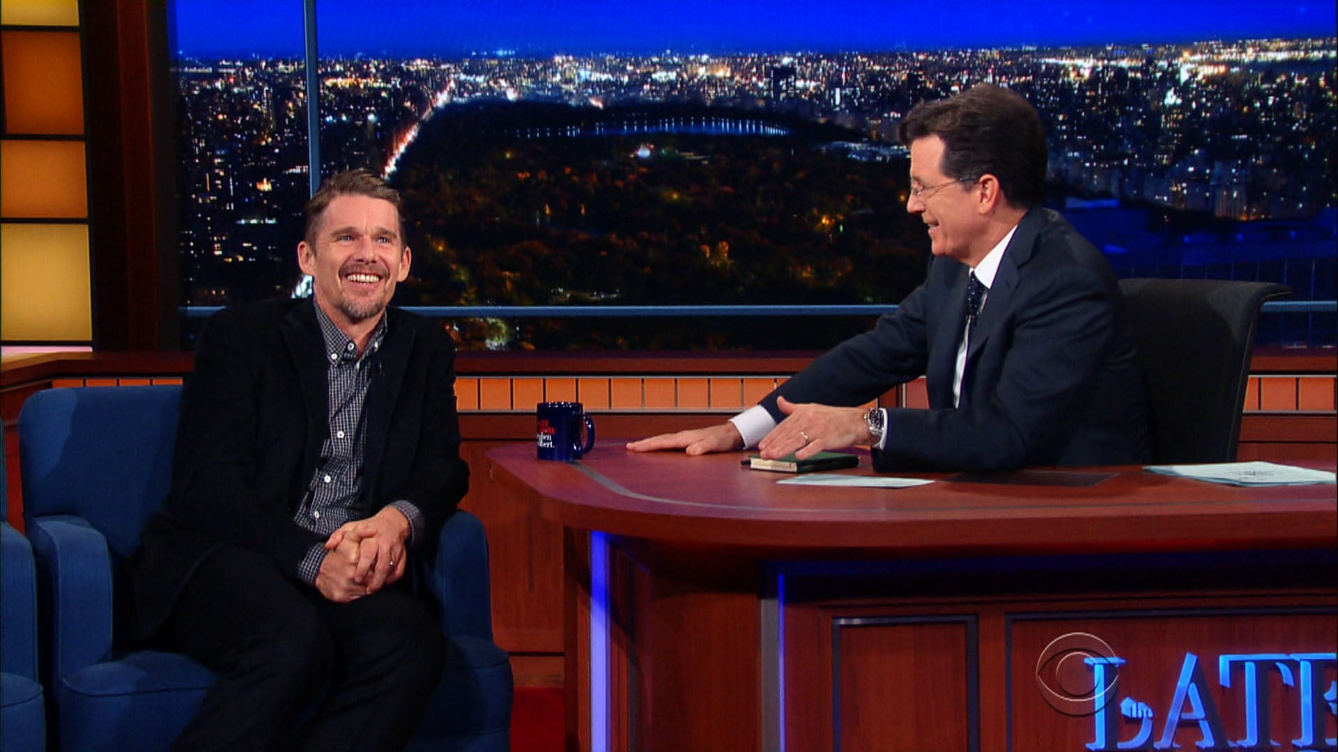 The Late Show with Stephen Colbert Season 1 :Episode 40  Ethan Hawke, Claire McCaskill, Amy Klobuchar, Nathaniel Rateliff & The Night Sweats