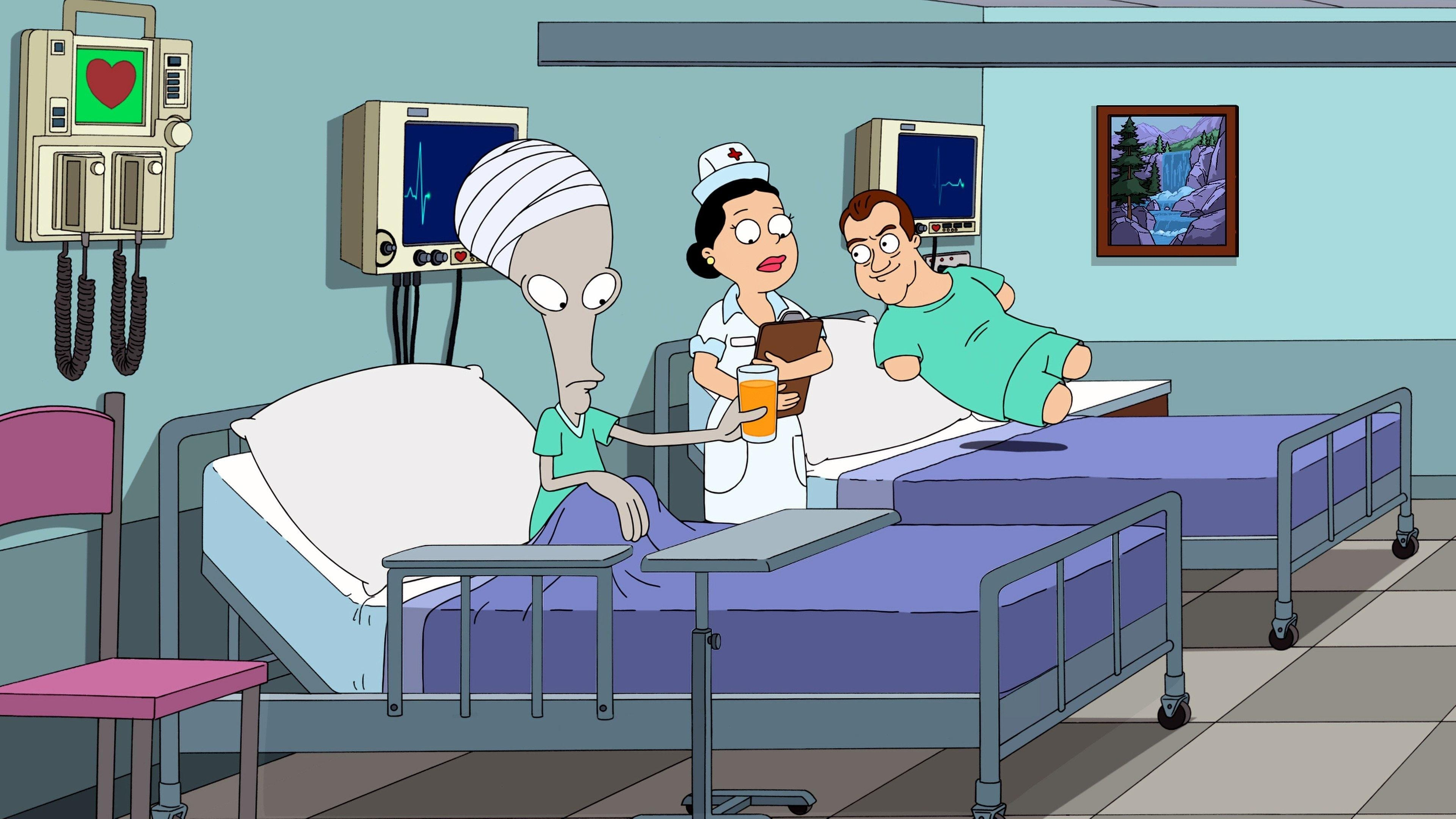 American Dad! Season 10 :Episode 9  Vision: Impossible