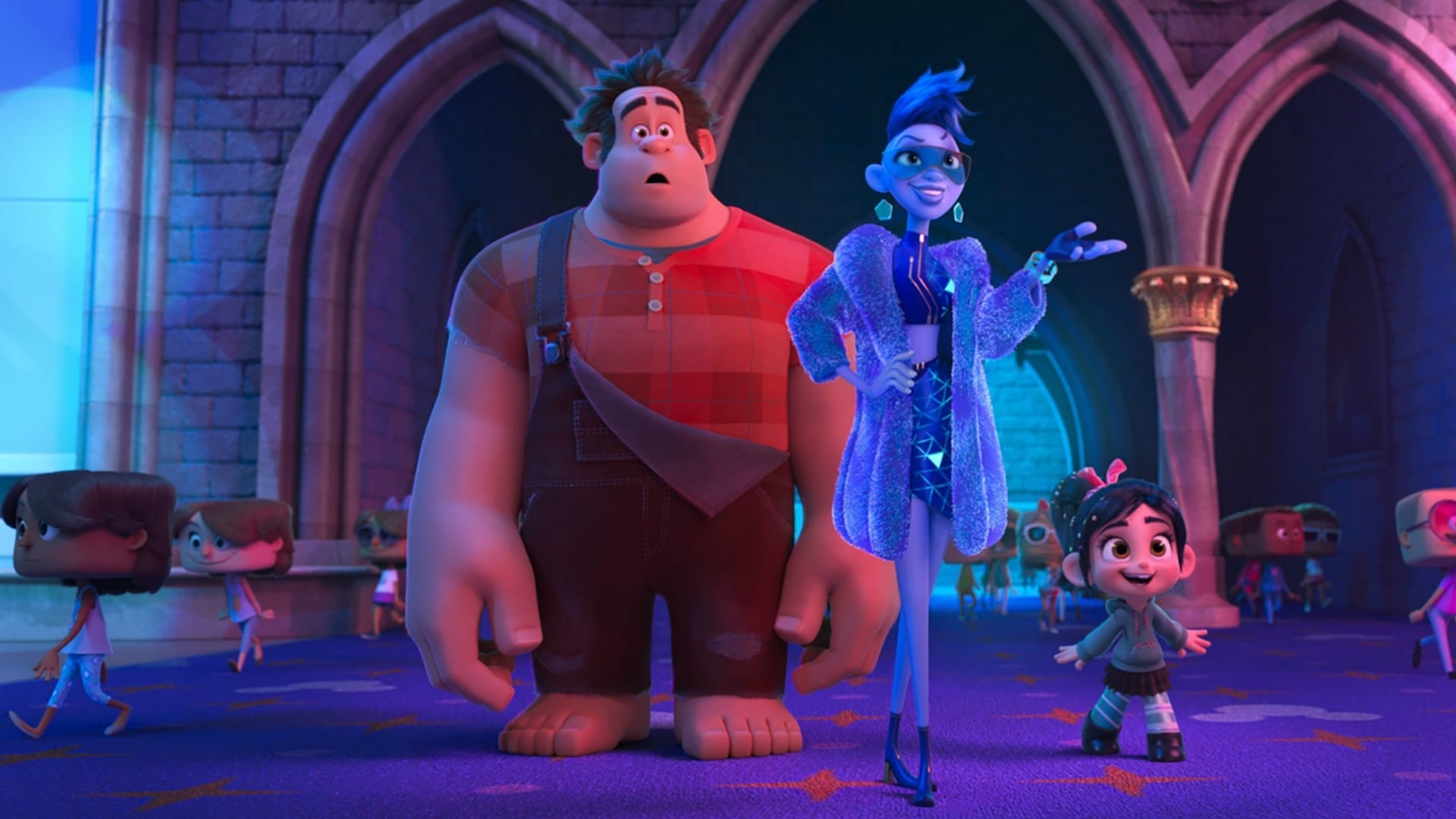 Backgrounds and walpapers Ralph Breaks the Internet
