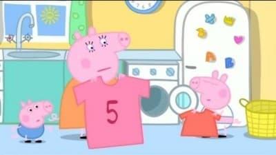 Peppa Pig Season 3 :Episode 10  Washing