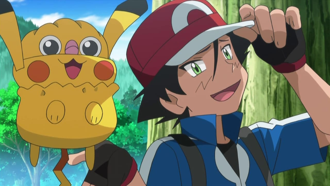 Pokémon Season 17 :Episode 28  Heroes - Friends and Faux Alike!
