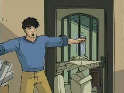 Jackie Chan Adventures Season 2 :Episode 14  Origami