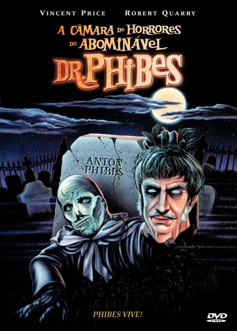 A Câmara de Horrores do Abominável Dr. Phibes Dublado