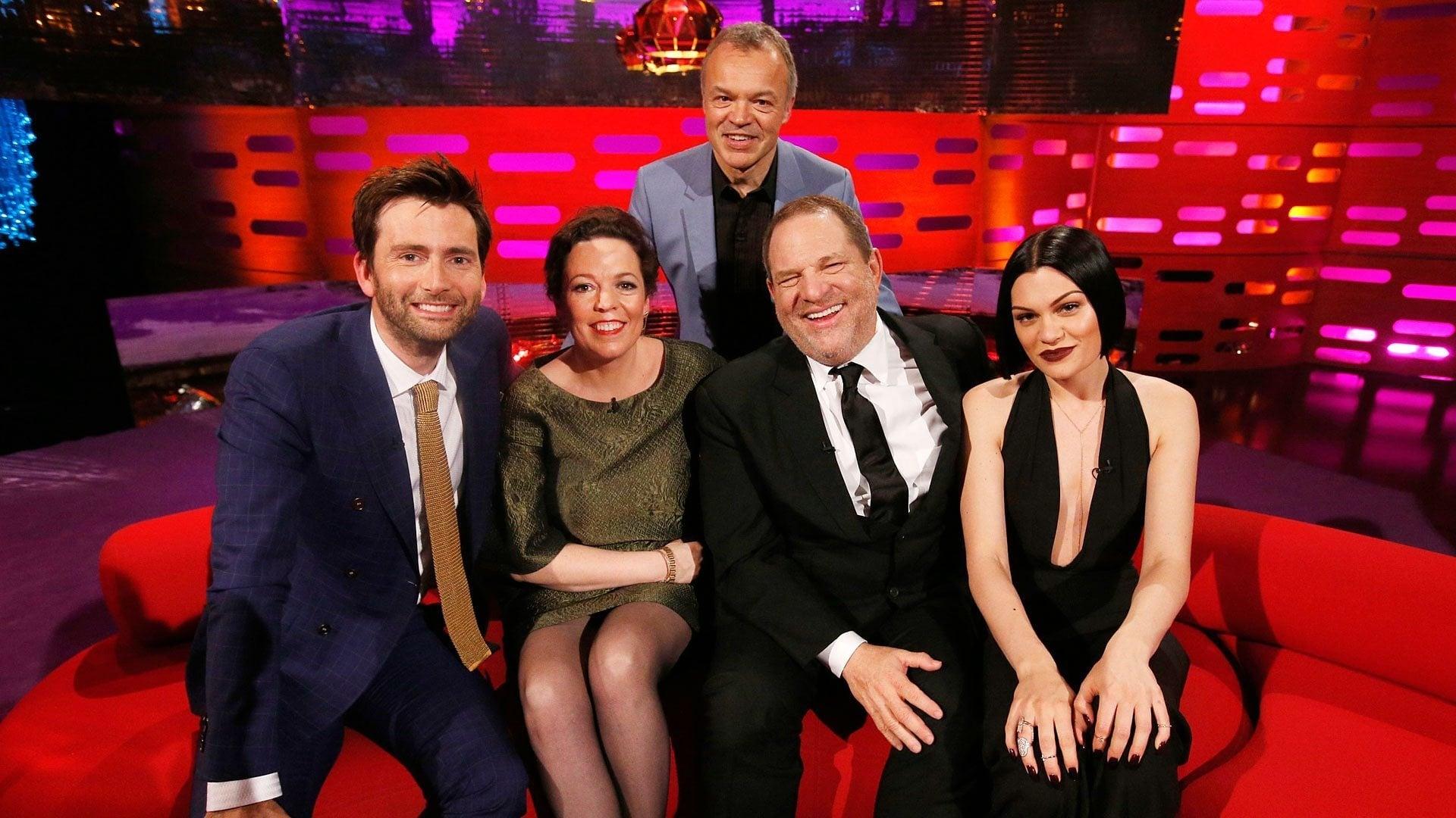 The Graham Norton Show Season 16 :Episode 14  David Tennant, Olivia Colman, Harvey Weinstein, Jessie J