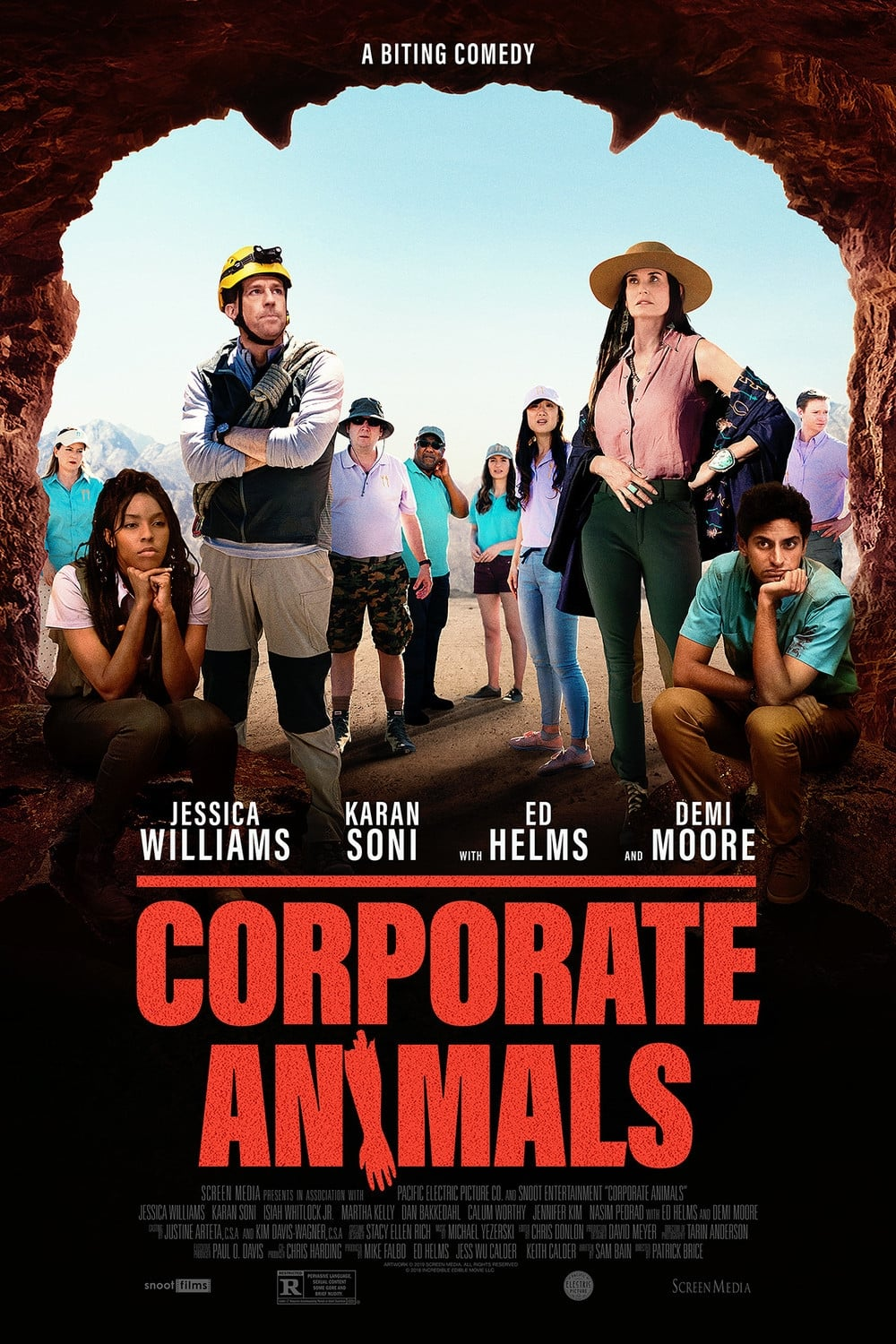 assistir filme corporate animals
