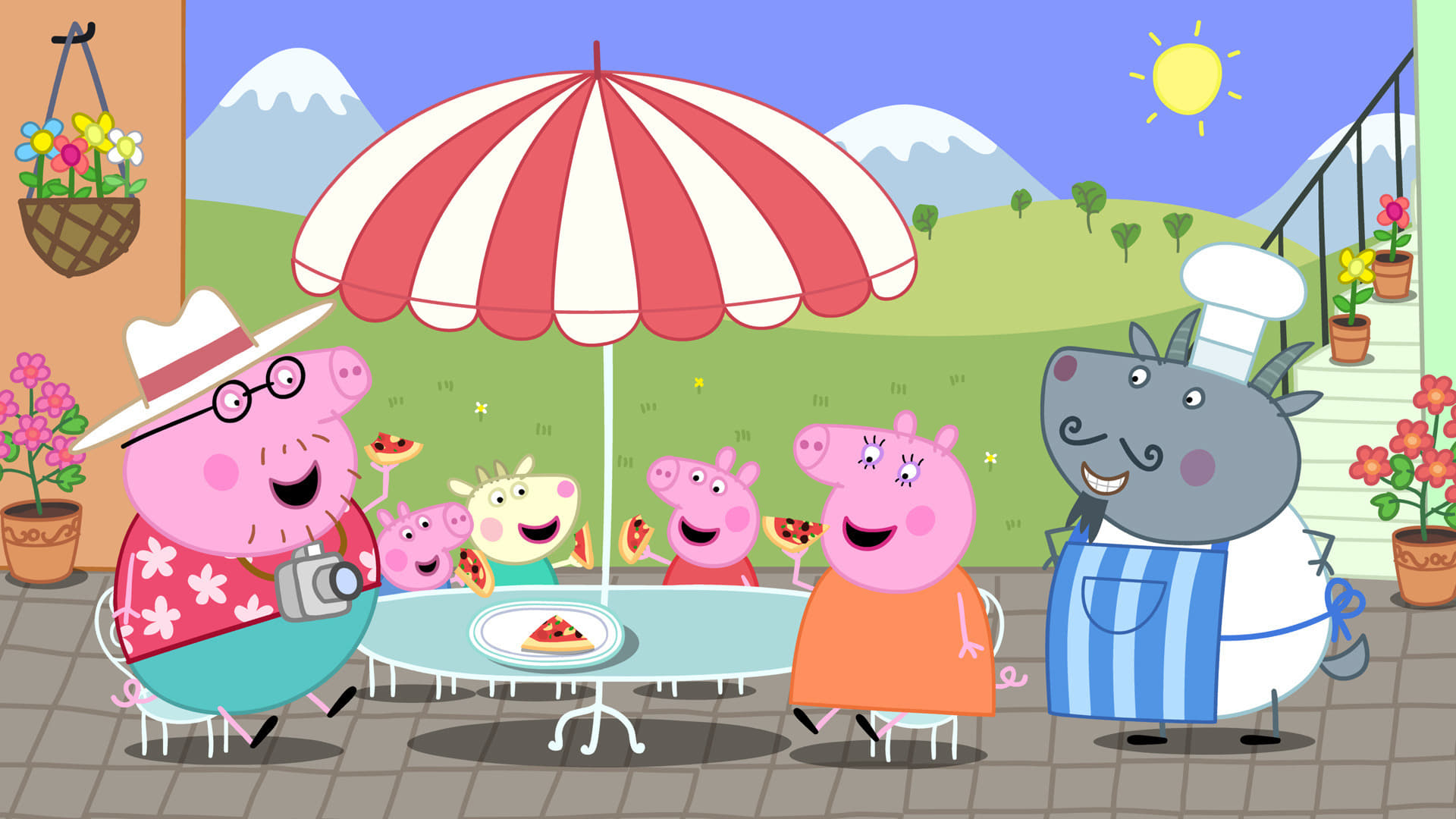 Peppa Pig Season 4 :Episode 38  Holiday in the Sun