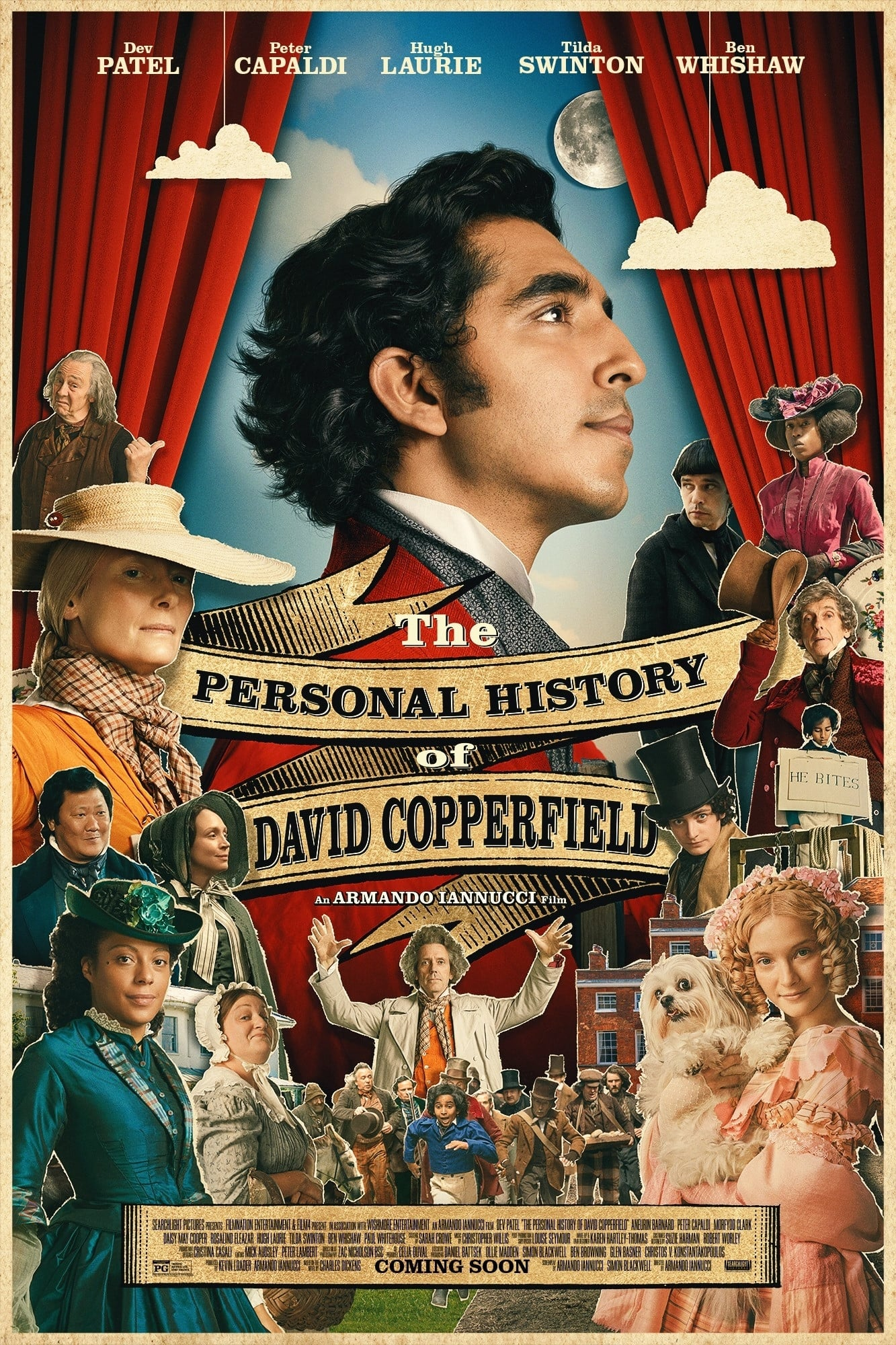 assistir filme a vida extraordinária de david copperfield