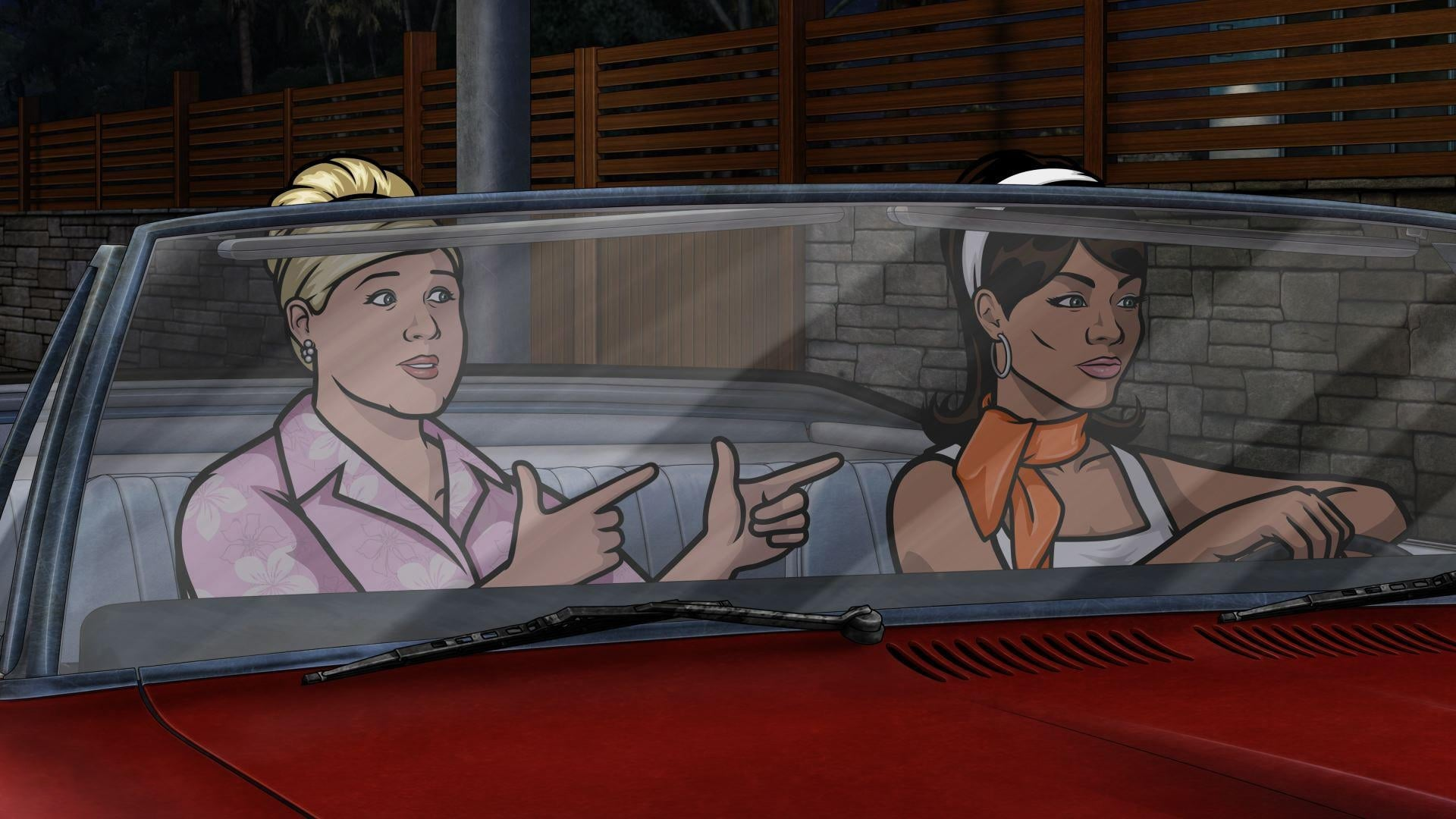 Archer Season 5 :Episode 2  A Kiss While Dying