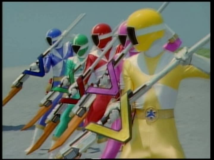 Super Sentai Season 23 :Episode 18  The Counterattacking V-Lancers