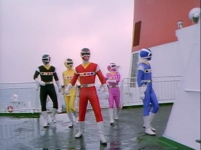 Super Sentai Season 21 :Episode 46  Stop it! The Boat to Hell