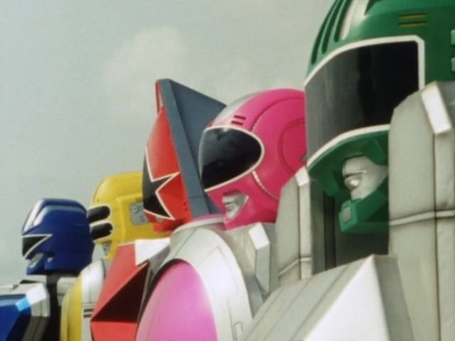 Super Sentai Season 19 :Episode 33  5 Robot Rampage