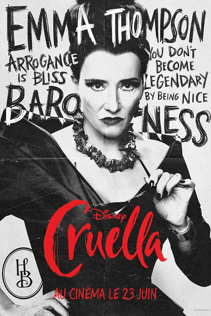 Poster and image movie Cruella
