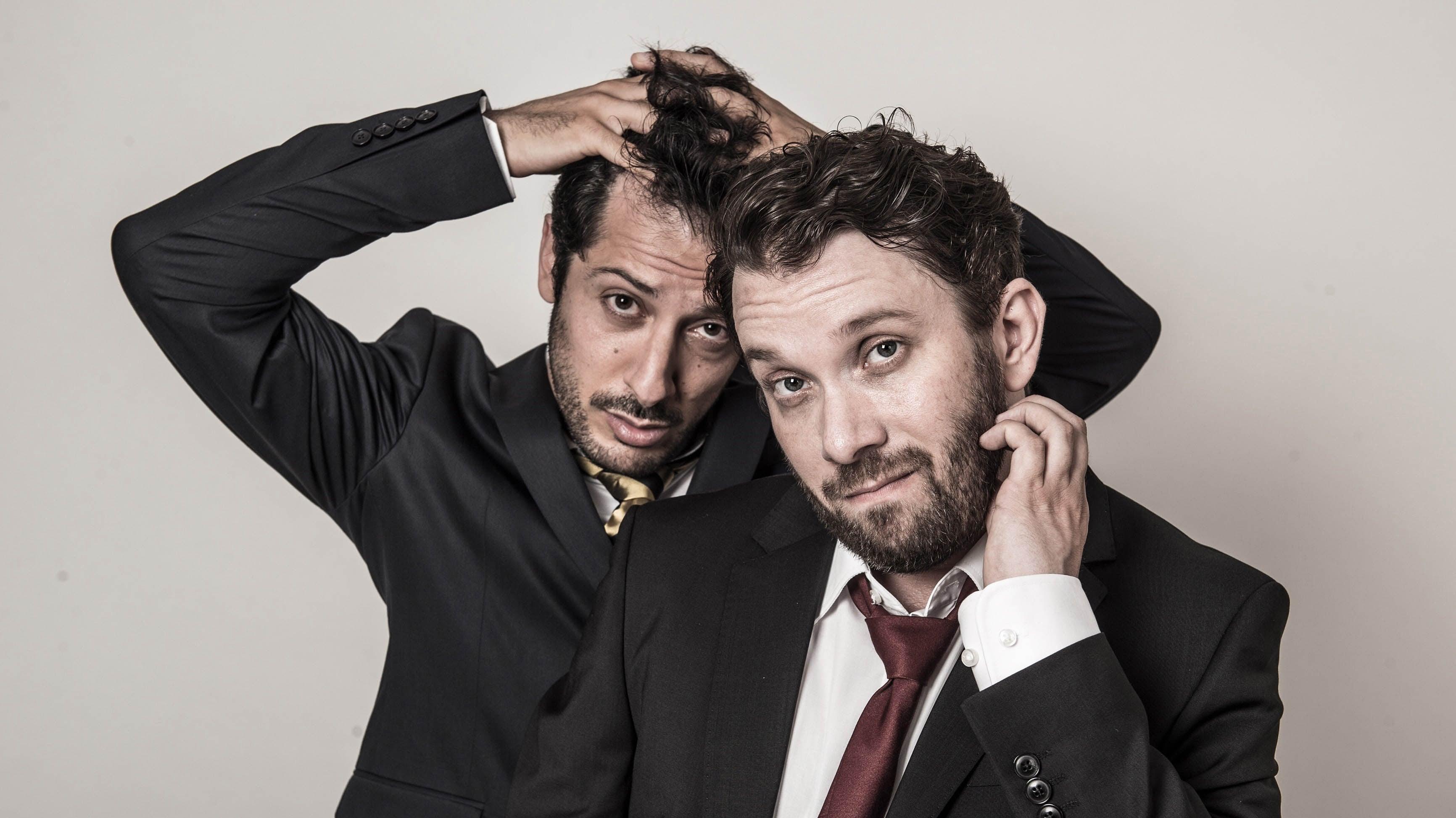 Christian Ulmen und Fahri Yardim, Bild: Jens Koch