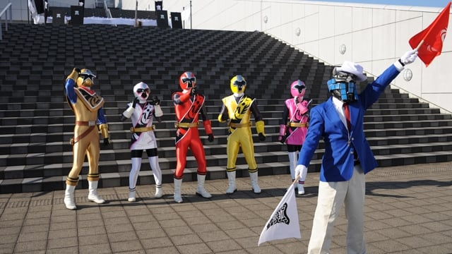 Super Sentai Season 39 :Episode 41  Kibaoni Party, Five Round Duel!