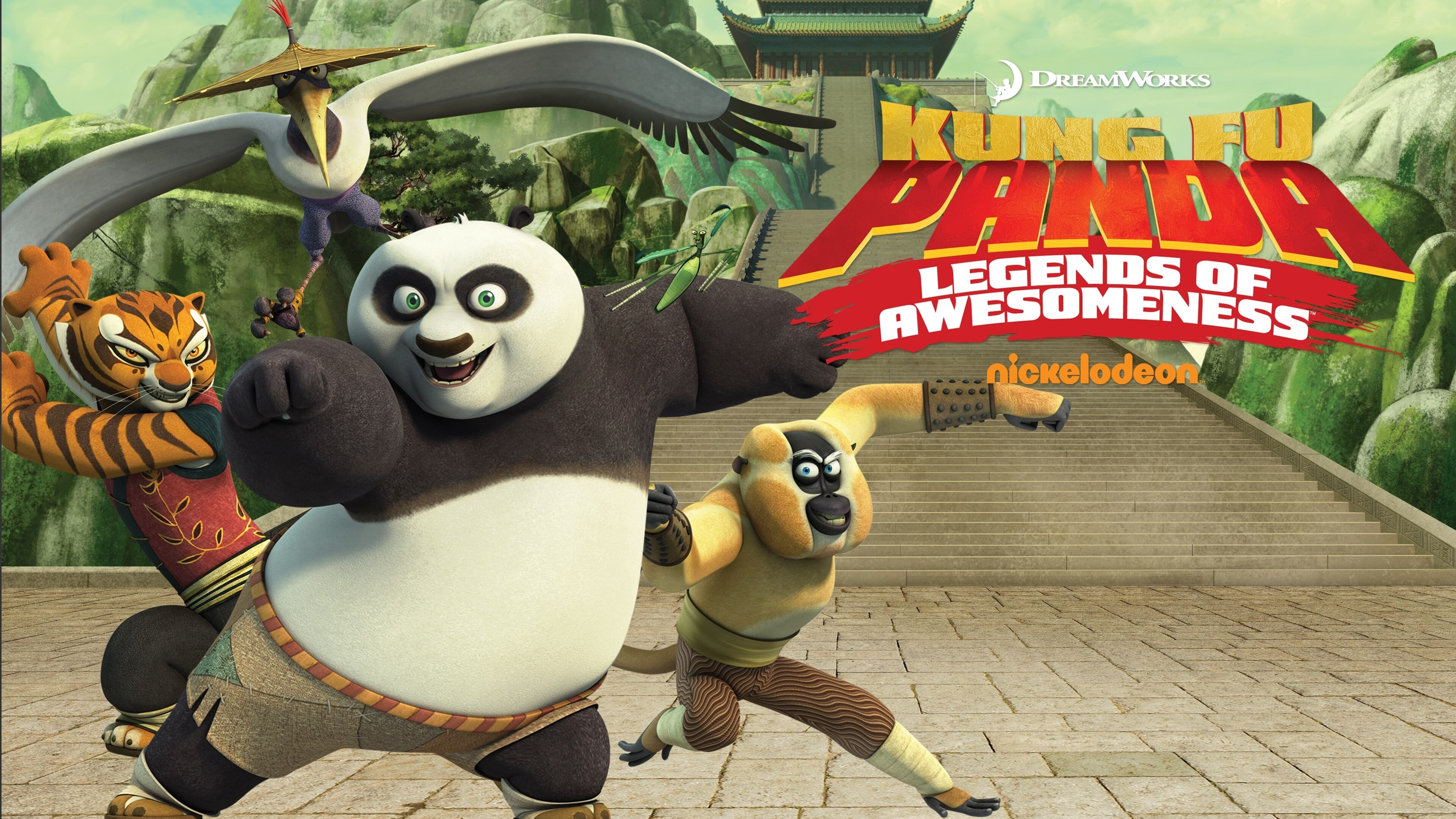 Kung Fu Panda: Legends of Awesomeness - Season 3 Episode 23 : Goose Chase