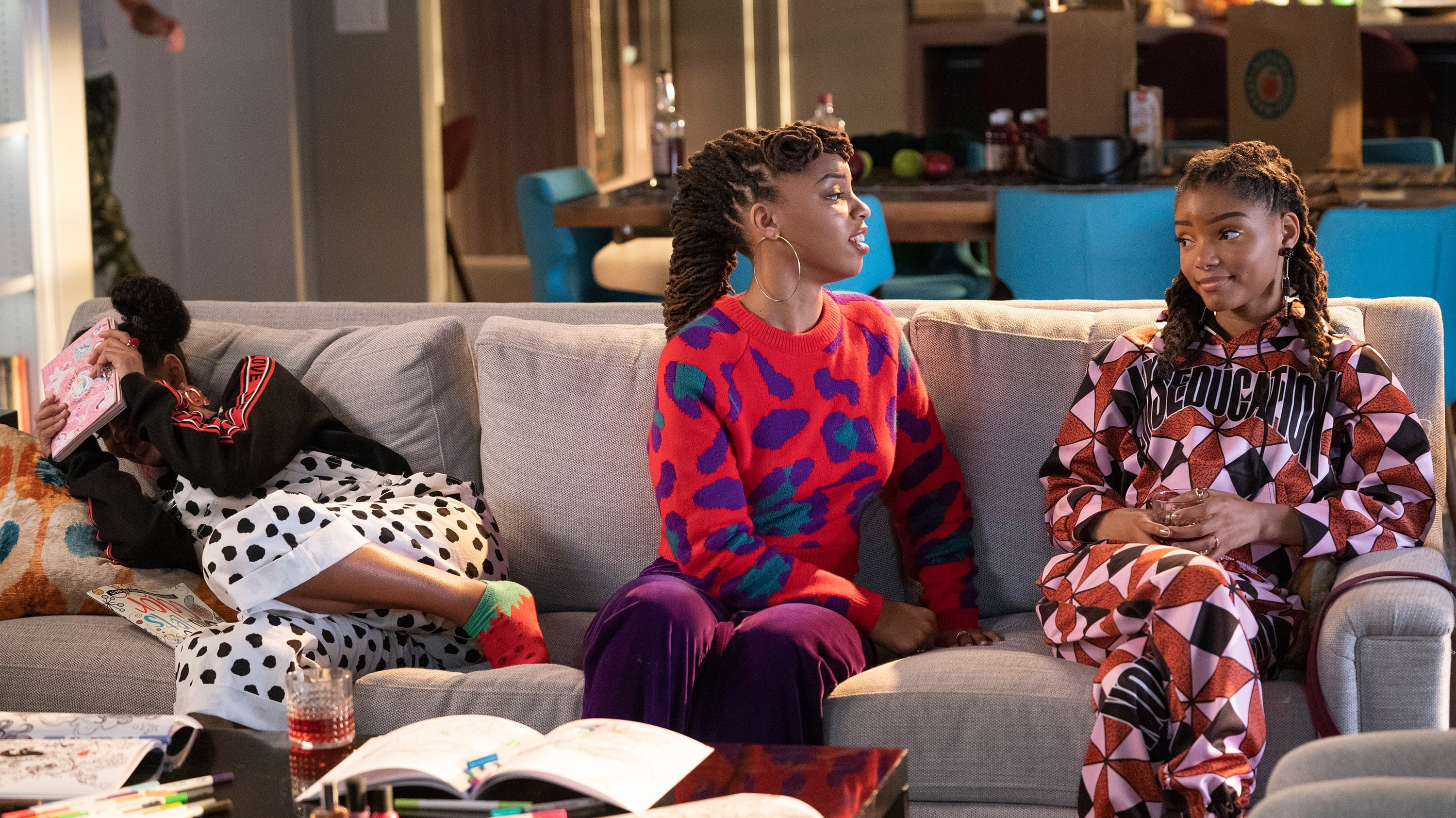 Grownish season 2 episode 16 the twins and Zoey