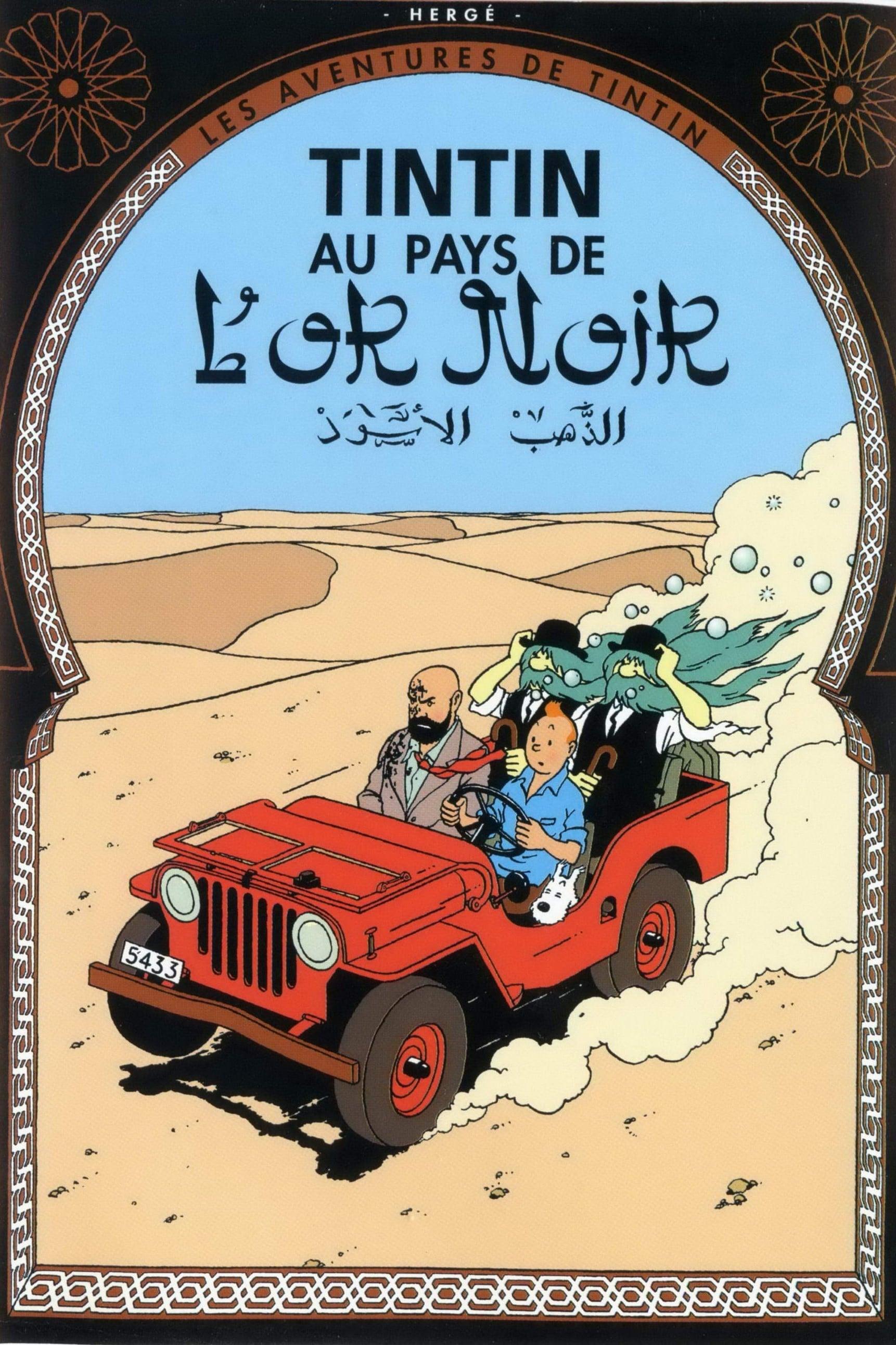 Les Aventures De Tintin 13 Au Pays De L'Or Noir - 1992