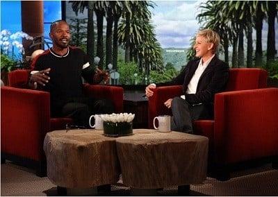 The Ellen DeGeneres Show Season 9 :Episode 10  Jamie Foxx, Elisabetta Canalis & Val Chmerkovsky, Dr. Drew
