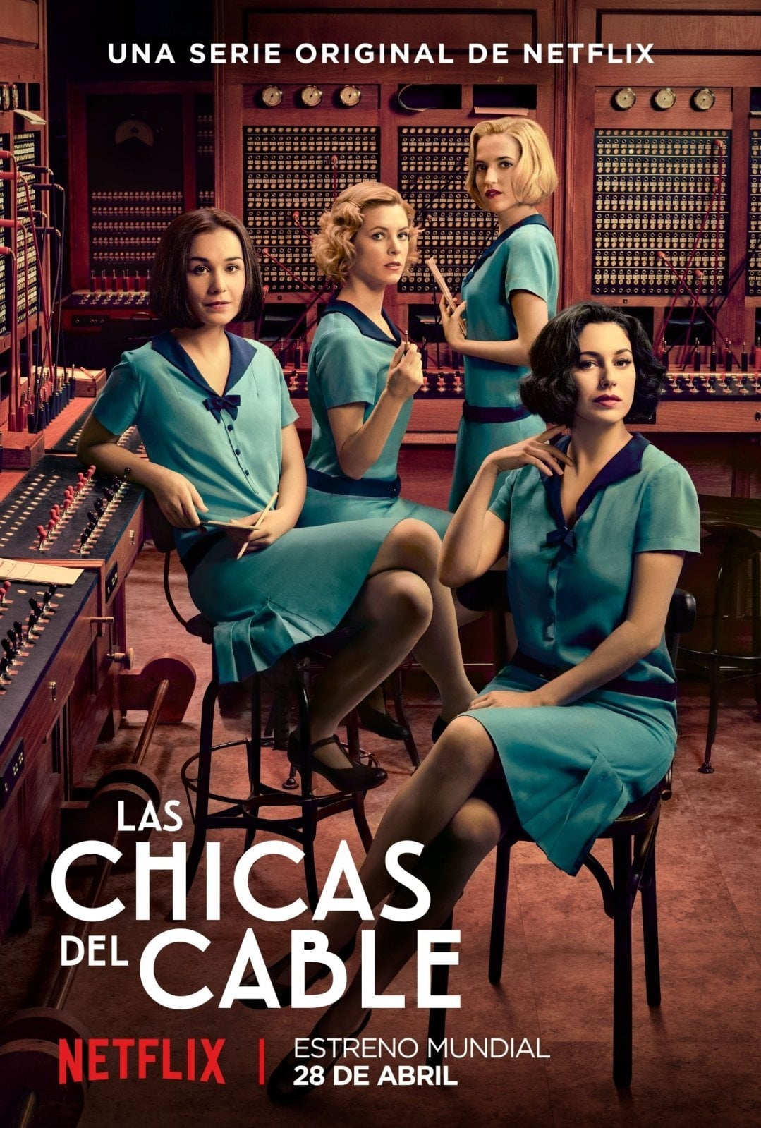 Las chicas del cable – Todas as Temporadas Dublado / Legendado (2017)