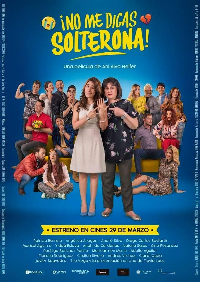 Ver No Me Digas Solterona Online HD Español (2018)