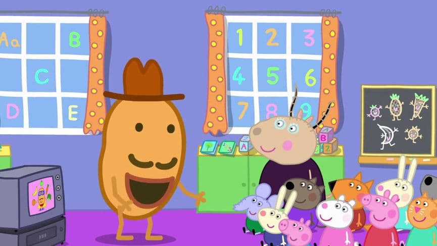 Peppa Pig Season 5 :Episode 40  Super Potato
