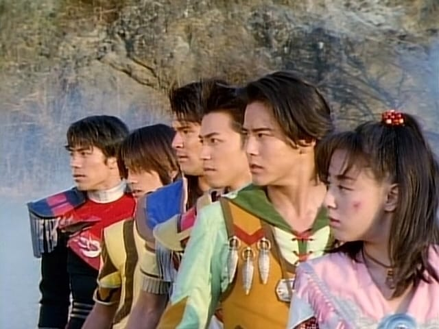 Super Sentai Season 22 :Episode 50  The Legends of Tomorrow