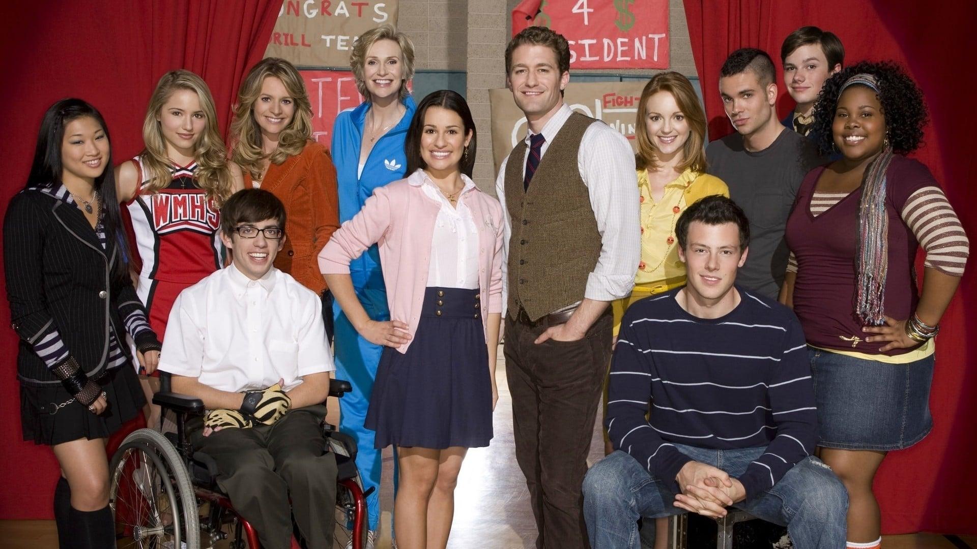 Komische serie Glee komt naar Netflix