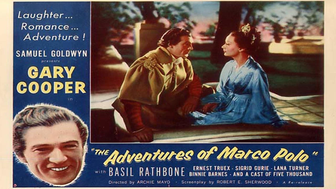 the adventures of marco polo With his deep, baritone, vocals, alfred drake (born: alfred capurro) reigned over  broadway during the 1940s and '50s best known for his portrayal of curly in.