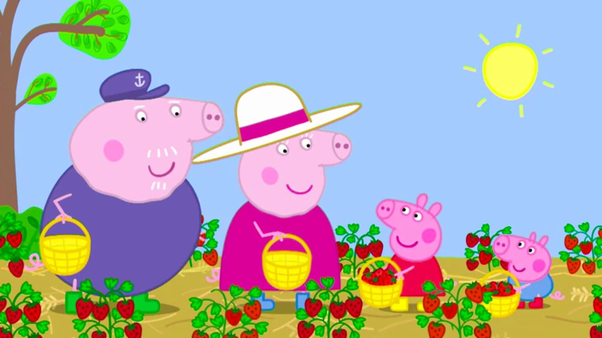 Peppa Pig Season 6 :Episode 16  Strawberries
