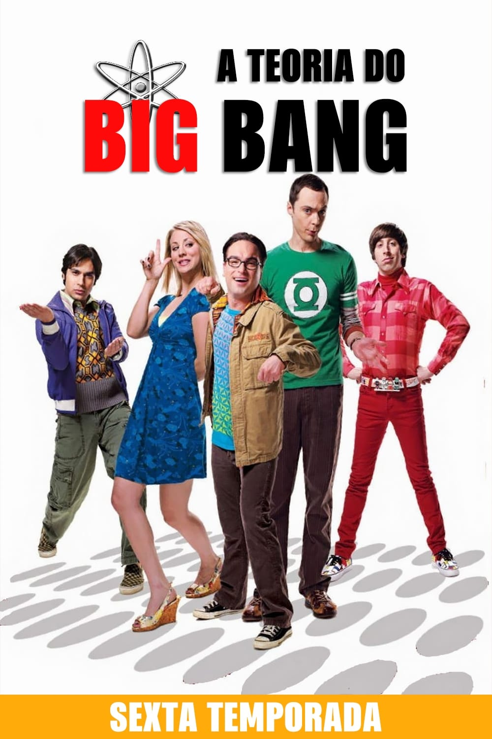 The Big Bang Theory 6ª Temporada Torrent Download (2012) Bluray 720p Dual Audio
