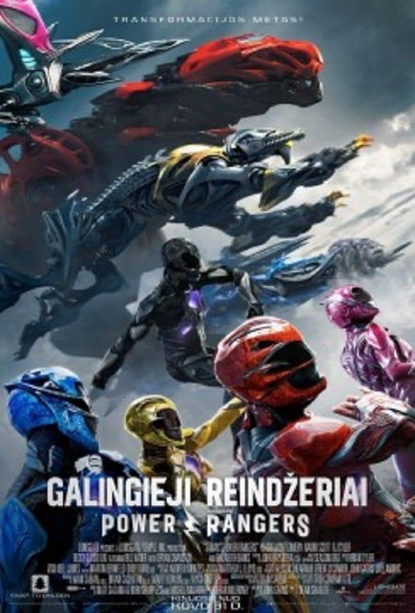 Galingieji Reindžeriai / Power Rangers (2017) LT SUB