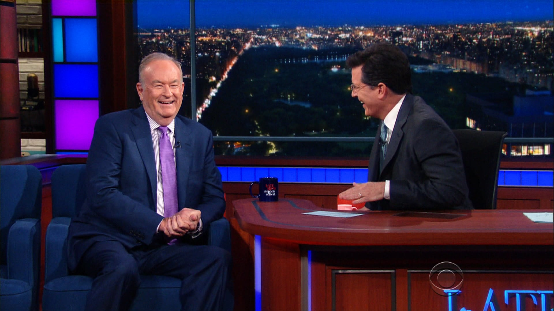 The Late Show with Stephen Colbert Season 1 :Episode 133  Bill O'Reilly, Morris Chestnut, Deerhunter