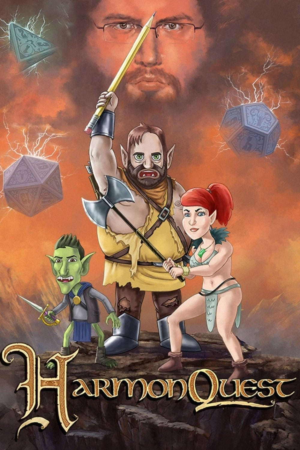 HarmonQuest TV Shows About Dungeon