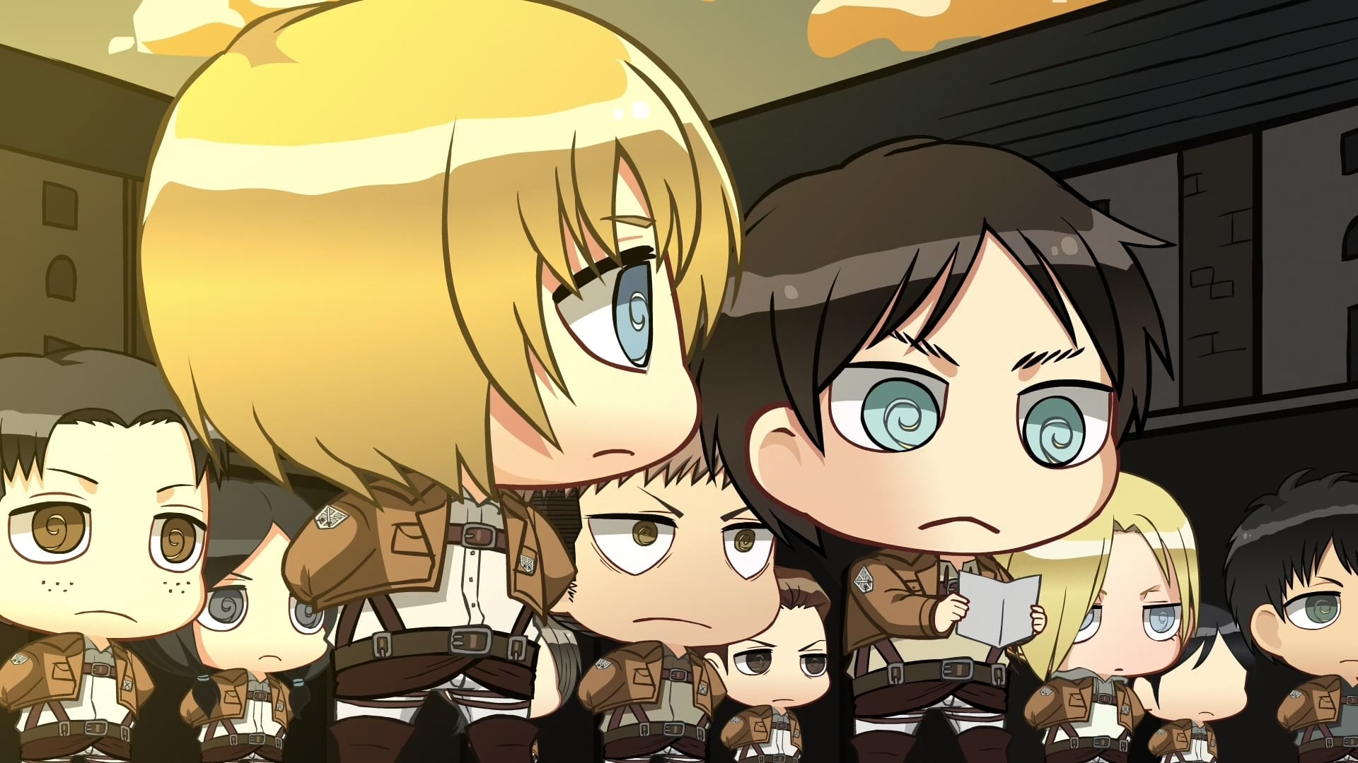 Attack on Titan Season 0 :Episode 13  Chibi Theatre: Fly, Cadets, Fly!: Day 23 / Day 24 / Day 25