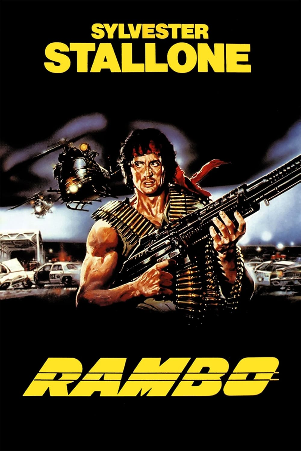 Poster and image movie Film Rambo - Rambo: Primul sânge, partea I - First Blood - First Blood -  1982