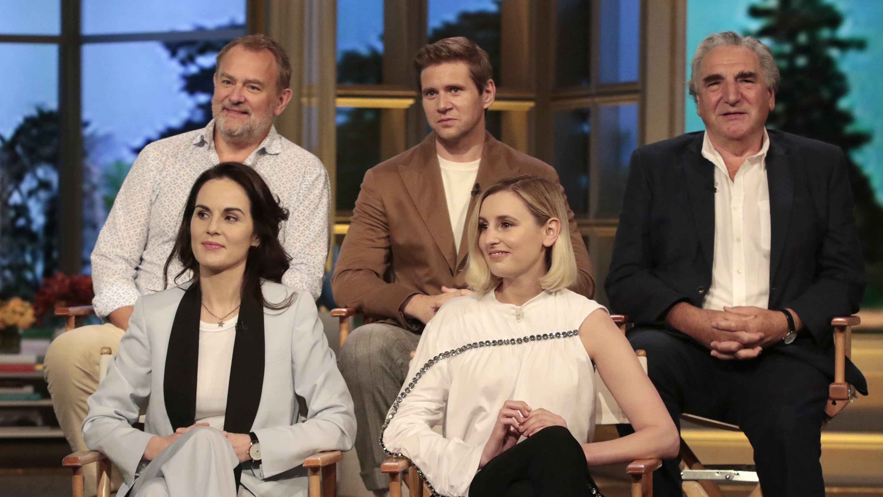 The View Season 23 :Episode 13  The Cast of Downton Abbey