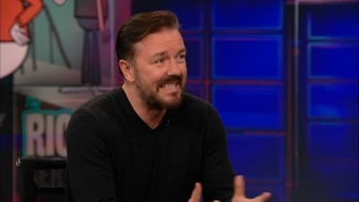The Daily Show with Trevor Noah Season 17 :Episode 86  Ricky Gervais