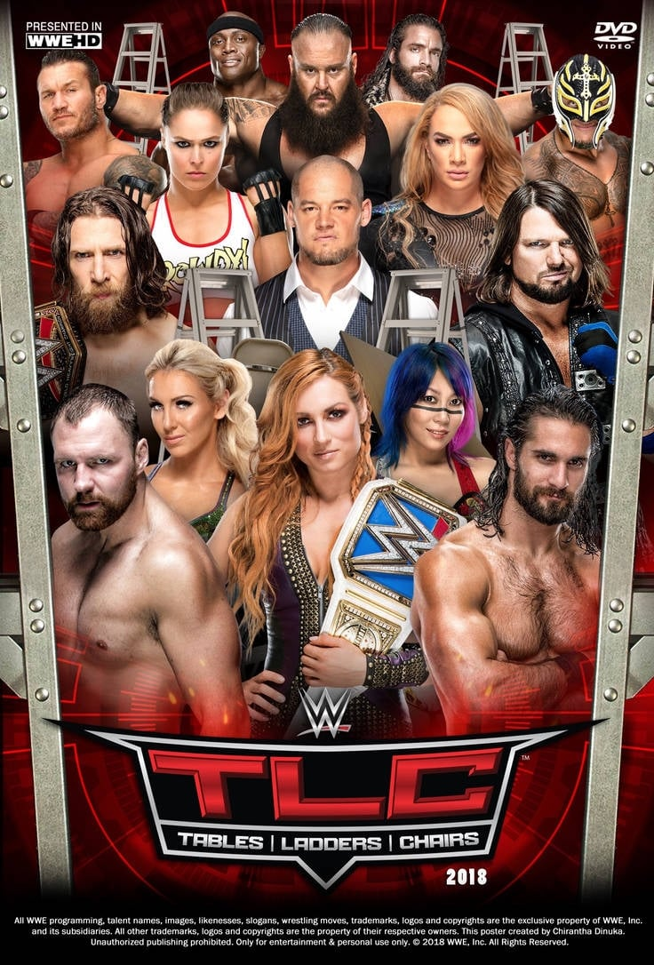 WWE TLC: Tables, Ladders & Chairs 2018 (2018)