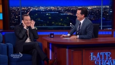 The Late Show with Stephen Colbert Season 1 :Episode 38  Bryan Cranston, Shamir